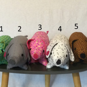 Peluches cochons