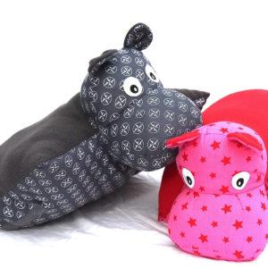 Coussins Hippopotames